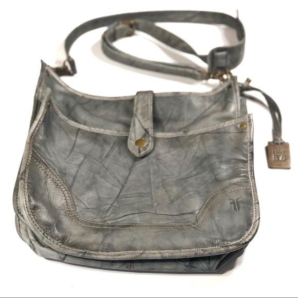 0a2541814 Frye Bags | Gray Dakota Campus Crossbody Bag | Poshmark